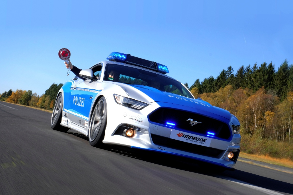 Ford Mustang Polizei Tuning